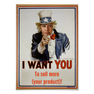 """sell more products""  Poster"