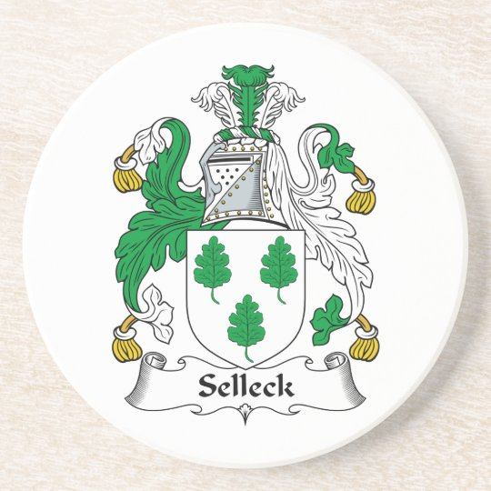 Selleck Family Crest Coaster
