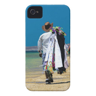 Seller on the beach Case-Mate iPhone 4 cases