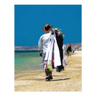 Seller on the beach letterhead