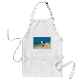 Seller on the beach standard apron