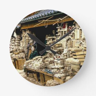 Selling New Years Decorations Vintage Old Japan Wall Clocks