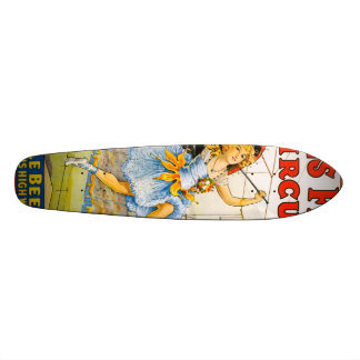 Sells Floto Circus Custom Skate Board