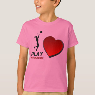 "SELMA YELLOWJACKETS ""PLAY WITH HEART"" BBALL SHIRT"