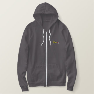 Semi and Backhoe Embroidered Hoodie