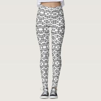 semi circle print leggings