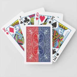 Semi-knockout shuffles bicycle playing cards