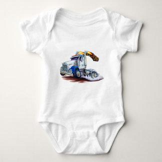 Semi Truck Baby Bodysuit