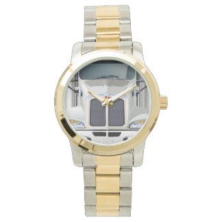 Semi Truck Cargo Wrist Watches