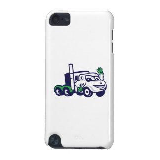 Semi Truck Rig Waving Cartoon iPod Touch 5G Case
