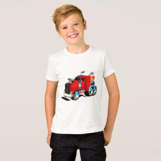 Semi Truck Tshirt for Boys