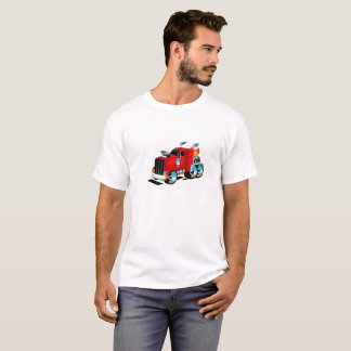 Semi Truck Tshirt for Men
