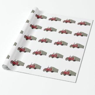 Semi Truck Wrapping Paper