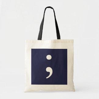 Semicolon - Dark Blue
