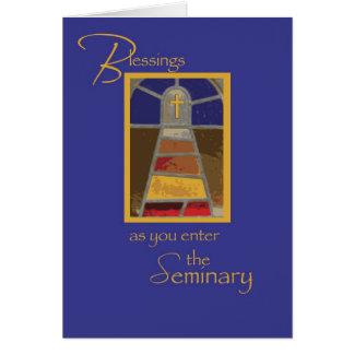 Seminarian Cross Journey Card