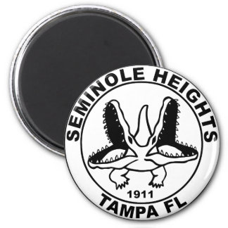 SEMINOLE_HEIGHTS_SEAL 2 INCH ROUND MAGNET
