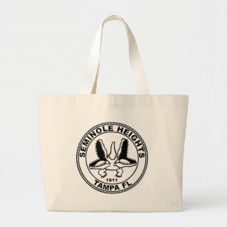 SEMINOLE_HEIGHTS_SEAL LARGE TOTE BAG