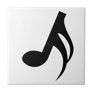Semiquaver Musical Note Tile