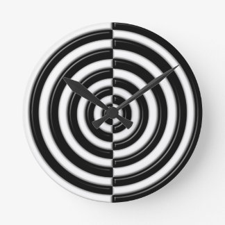 Semi's to play with your mind. wall clocks