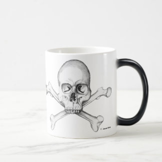 Semper Fi - Skull & Crossbones Magic Mug