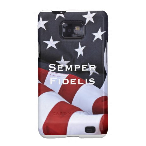Semper Fidelis and American Flag Galaxy S2 Covers