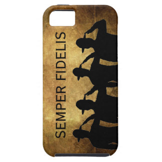Semper Fidelis and Saluting Sergeants iPhone 5 Covers