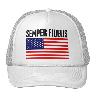 Semper Fidelis Mesh Hats