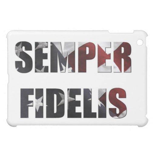 Semper Fidelis iPad Case