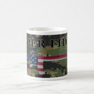 Semper Fidelis M16 Coffee Mug Digital