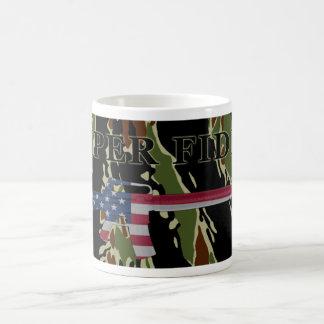 Semper Fidelis M16 Coffee Mug Tiger Stripe
