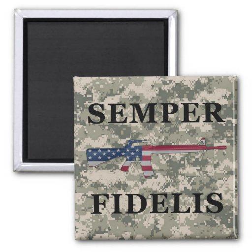 Semper Fidelis M16 Magnet ACU