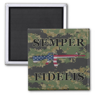 Semper Fidelis M16 Magnet Digital