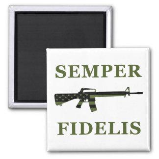 Semper Fidelis M16 Magnet Subdued
