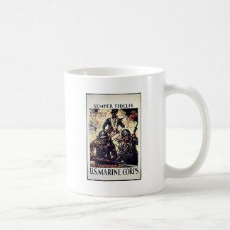 Semper Fidelis Coffee Mugs