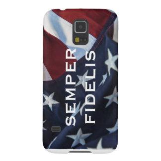 Semper Fidelis Patriotic Galaxy S5 Case