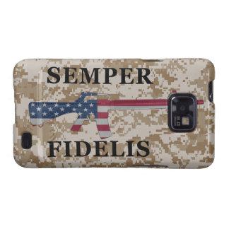 Semper Fidelis Samsung Galaxy S Case Tan