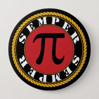 Semper Pi 4 Inch Round Button