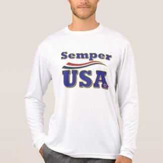 Semper USA Tee America Stars and Stripes T-Shirt