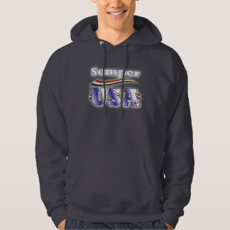 Semper USA Tee America Stars and Stripes T-Shirt