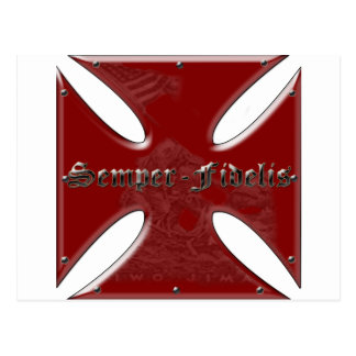 SemperFidelisCross.png Postcard
