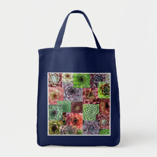 Sempervivum shopping bag