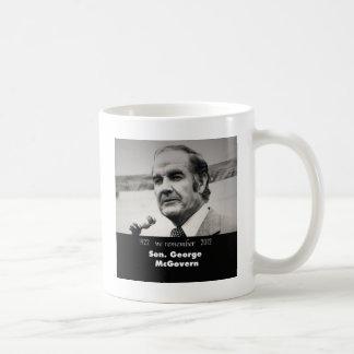 Senator George McGovern 1922-2012 Coffee Mug