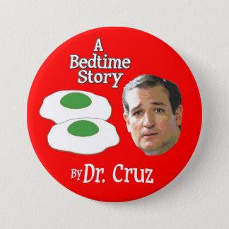 Senator Ted Cruz Storytime 3 Inch Round Button