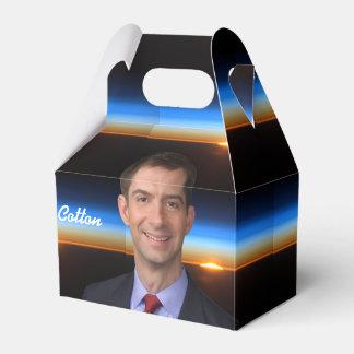 Senator Tom Cotton & Sunrise From Space Favor Box