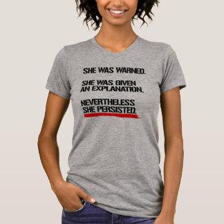 Senator Warren - Nevertheless She Persisted -- .pn T-Shirt