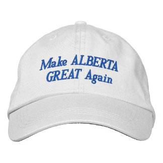 Send a message to the Alberta NDP Embroidered Baseball Cap