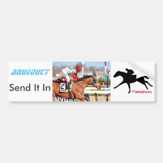 Send It In - John Velasquez Bumper Sticker