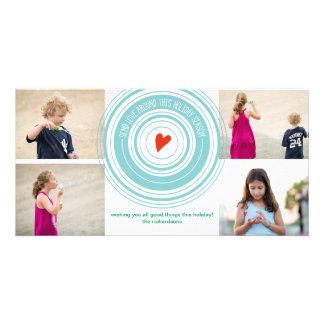 Send Love Around x4 Card