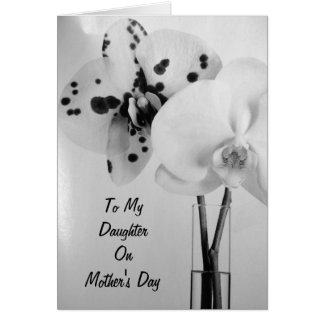 SEND LOVE TO YOUR DAUGHTER ON MOTHER'S DAY GREETING CARD