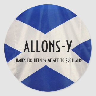 Send Me to Aberdeen Classic Round Sticker